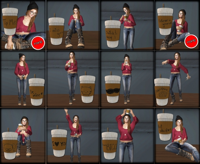 Coffee Cup gacha